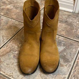 Frye Cara Roper boot (short)